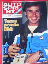 Autosprint n°44 1982 Didier Pironi - Frankie Williams Bernie Ecclestone  [P48]