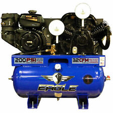 Eagle 14-HP 30-Gallon Two-Stage Truck Mount Air Compressor Kohler Engine