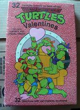 1991 PAPER MAGIC 32 VALENTINES CARDS TEENAGE MUTANT NINJA TURTLES NEW SEALED