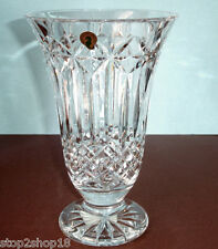 "Waterford Crystal Balmoral Vase 10"" Made In Ireland #164112 NEW"