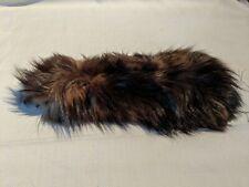 Vintage Fur Pelt Leather Hide