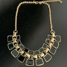 NEW Black & Gold Fashion Jewellery Necklace Costume Jewellery Women's Gifts