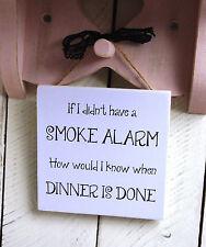 Cuisine plaques de Noël Cadeau signe Drôle de cuisson détecteur de fumée proverbes