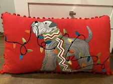 pier 1 Christmas Dog Pillow