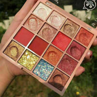 Make-Up Eyeshadow Palette Glitter Eye Shadow Pearlescent Shimmer Highlighte H7K1