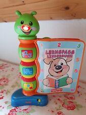 Fisher-Price Lernspass Liederbuch Lern-Spielzeug mit Musik Baby Kleinkind
