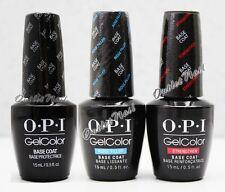 OPI GelColor Gel Nail 3pc Kit Set   ORIGINAL BASE COAT +STRENGTHEN +RIDGE FILLER