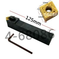 MCMNN2020K12-100 lathe turning tool holder +10pc CNMG120408 CNC turning inserts