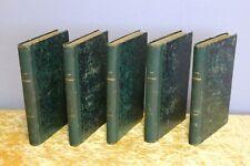 VICTOR HUGO, LES MISÉRABLES, TOMES 1-5 (COLLECTION INTÉGRALE), XIXe siècle