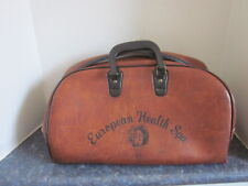 Rare Vintage European Health Spa Gym Bag