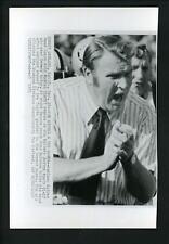 John Madden Oakland Raiders coach 1973 Press Photo