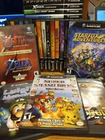 NEW TITLES 2/14* NINTENDO GAMECUBE GAMES LOT YOU PICK YOUR OWN BUNDLE ZELDA