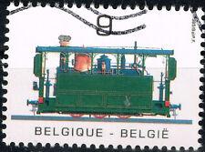 Belgium Railroad Train Locomotive stamp 1992