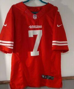 Nike NFL 49ers #7 Colin Kaepernick Jersey-