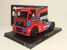 Slot SCX Scalextric Truck Flyslot 203307 Man TR 1400 Ed. Especial Martini Rosso