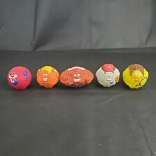 Wendy's 1995 Ball Players Kid's Meal - Complete Set of 5 Mini Balls Football