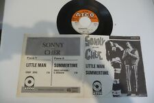 "SONNY AND CHER 45T LITTLE MAN / SUMMERTIME (GERSHWIN). 7"" ATCO -23. FRENCH"