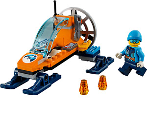 Lego City Artic Ice Glider 60190 with Instructions but no Box. New.
