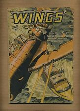 Wings Comics 80 (FR) 1947 Fiction House Greasemonkey Griffin (c#08749)