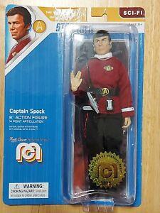 Captain Spock Star Trek Mego 8 Inch The Wrath of Khan Action Figure