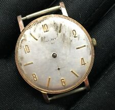 Cauny Hand Manual Winding Vintage Watch Non Working Watch 34,7mm