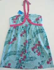 BNWT ROXY LADIES 3 ISLANDS COTTON SUN DRESS SIZE 14 RRP $69.95 LAST ONE