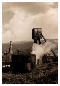 Ukraine, Boryslav, puits de pétrole Vintage silver print Tirage argentique