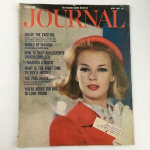 Ladies' Home Journal Magazine April 1962 Fashion Autobiography of Carmel Snow