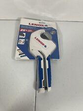 Lenox Ratcheting Plastic Tubing Cutter 1 58 42mm Od