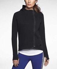 Nike Sportswear Modern Women's Cape Hoodie XL Black Gym Casual Running Yoga New