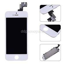 White LCD Display + Touch Screen Digitizer + Front Camera  For iPhone 5S /SE