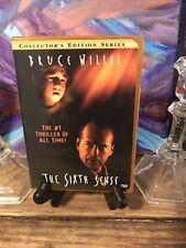 The Sixth Sense Dvd Collectors Ed Rare Orange Case Thriller Spooky Halloween Fun