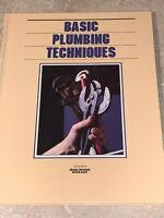 Grolier's Home Owning Made Easy BASIC PLUMBING TECHNIQUES Book