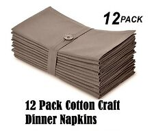 Cotton Craft Napkins Dinner Table Dining Room Ware Plates Glassware Spoon K