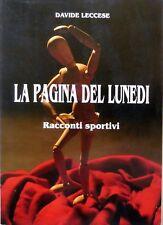 LA PAGINA DEL LUNEDI DAVIDE LECCESE RACCONTI SPORTIVI 1989