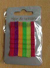 Horquillas multicolor para cabello de mujer