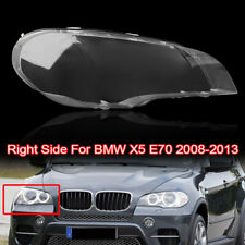 Right Headlight Lens Shell Cover Lampshade Lamp Cover For BMW 08-2013 X5 E70 AU