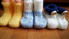 Lot de 3 chaussons bébé