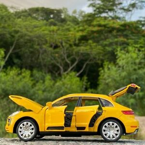 1:32 Porsche Macan Turbo Car Collection Model Alloy Metal Children Toy Gift