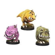 Ork War2 Gnaws Set #2 (biting predators) Kromlech NEU