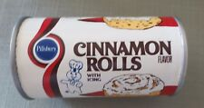 Pillsbury Doughboy 2 Ball Canister Cinnamon Rolls Flavor SEALED MINT FS