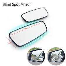 "One Pair 3"" Car Truck Adjustable Side Rearview Wing Blind Spot Mirror Frameless"