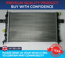 RADIATOR TO FIT VAUXHALL ASTRA G MK4 ZAFIRA A MK1 PETROL LPG MANUAL WITH AIR CON