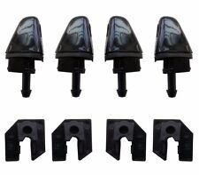 Set 4 Head Light Lamp Headlight Washer Nozzle Jet Spout Clip Mazda 6 M6 02-07