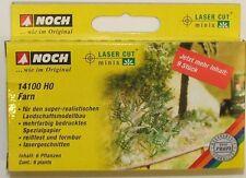 NOCH 14100 Fern (9 Plants) 00/H0 Model Railway
