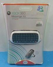 MICROSOFT XBOX 360 LIVE MESSENGER KIT ORIGINAL NUEVO SELLADO CHATPAD AURICULARES