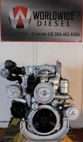 2002  Mercedes OM 906 LA Diesel Engine,300HP, Approx. 161K Miles. All Complete