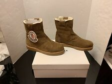 MONCLER AUTHENTIC DALLAS WINTER WEATHER ANKLE BOOTS SHOES MEN'S NEW $695 ~12/45
