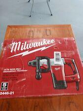 New Listingmilwaukee Sds Max Demolition Hammer 5446 21