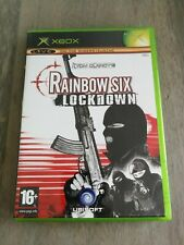 Tom Clancy's Rainbow Six: Lockdown (Microsoft Xbox, 2005) - Played - w/ manual